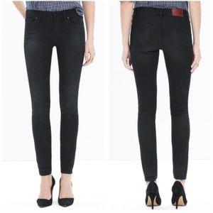 MADEWELL Black Skinny Skinny Trent Wash Jeans